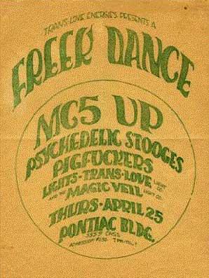 Freek Dance 1968 / Doors 1967 Photos 68poster47b