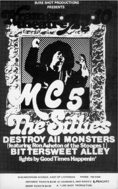 MC5 aka Rob Tyner's Band