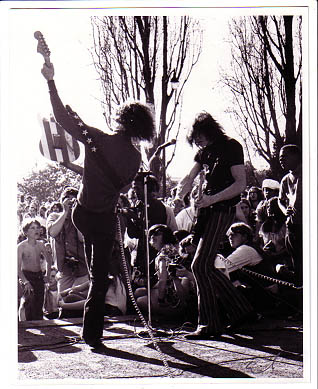 West Coast tour - Spring 1969 - Photo by Emil BACILLA