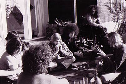 J.C. CRAWFORD , ROB TYNER , JOHN SINCLAIR , TIMOTHY LEARY - Photo by Emil BACILLA