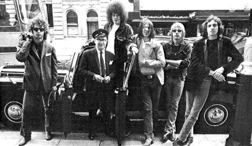 MC5 - England 1970 - First European appearance - Photo : unknown