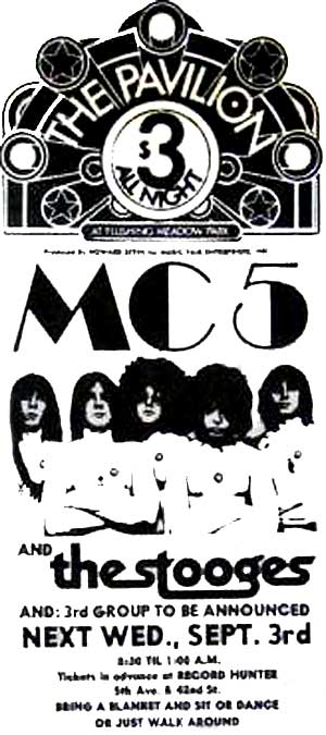 MC5 STOOGES at the PAVILION