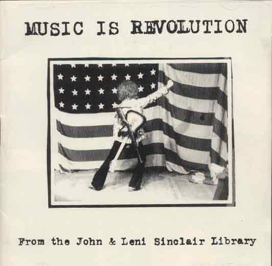 72 minute spoken word cd from the John and Leni Sinclair Papers