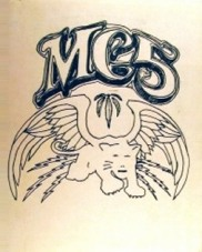 MC5 & White Panther logo by  Gary Grimshaw